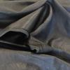black stretch leather
